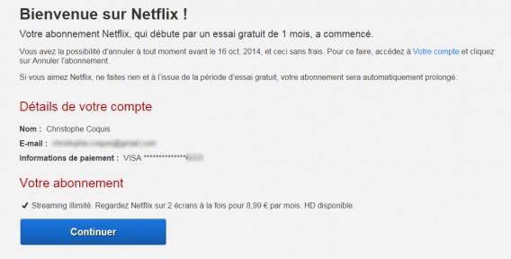 Bienvenue Netflix