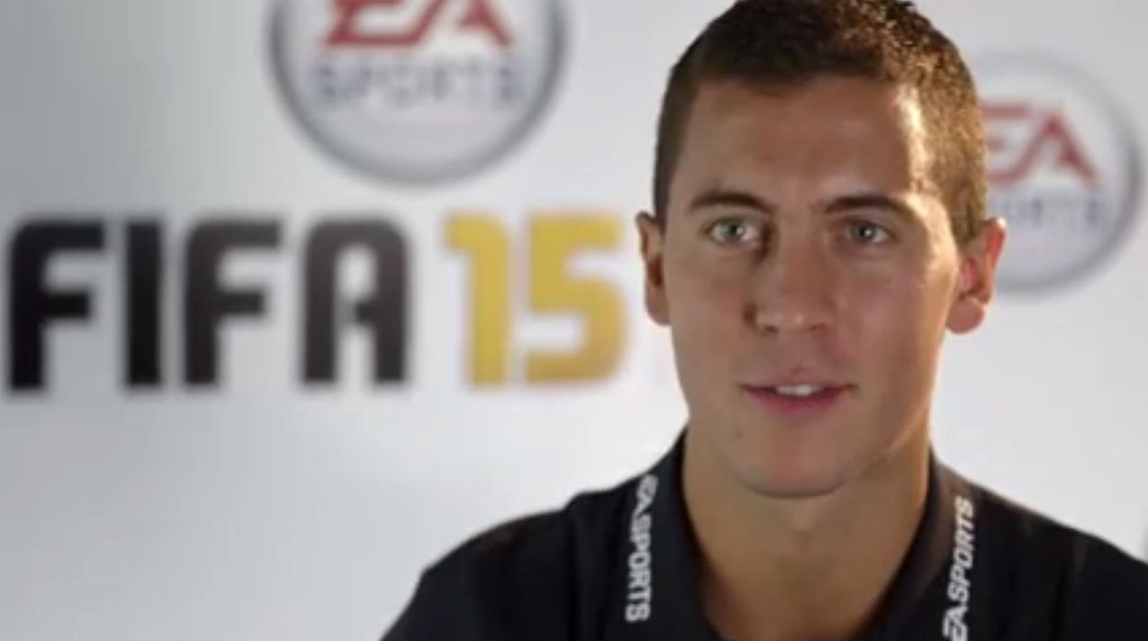 FIFA 15: Eden Hazard, Samir Nasri et Rio Ferdinand analysent leurs notes