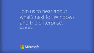 Windows 9 sera officialisé le 30 septembre prochain