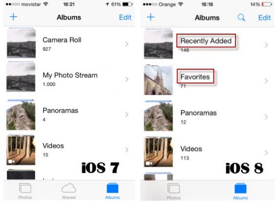 iOS Zdjęcia