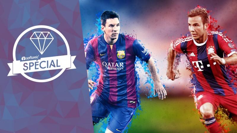 Choisir entre FIFA 15 et PES 2015 : quel est le meilleur jeu de football?
