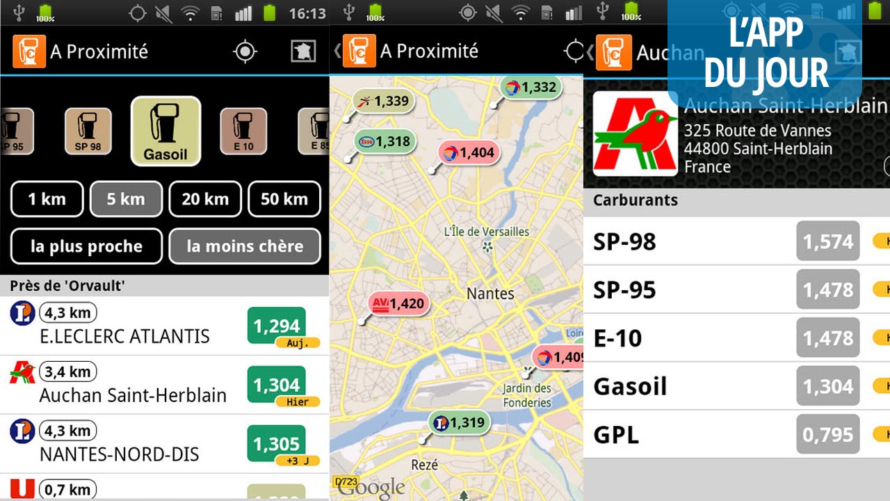 Le Mondial de l'auto à Paris : économisez de l'essence avec l'application « Essence free »