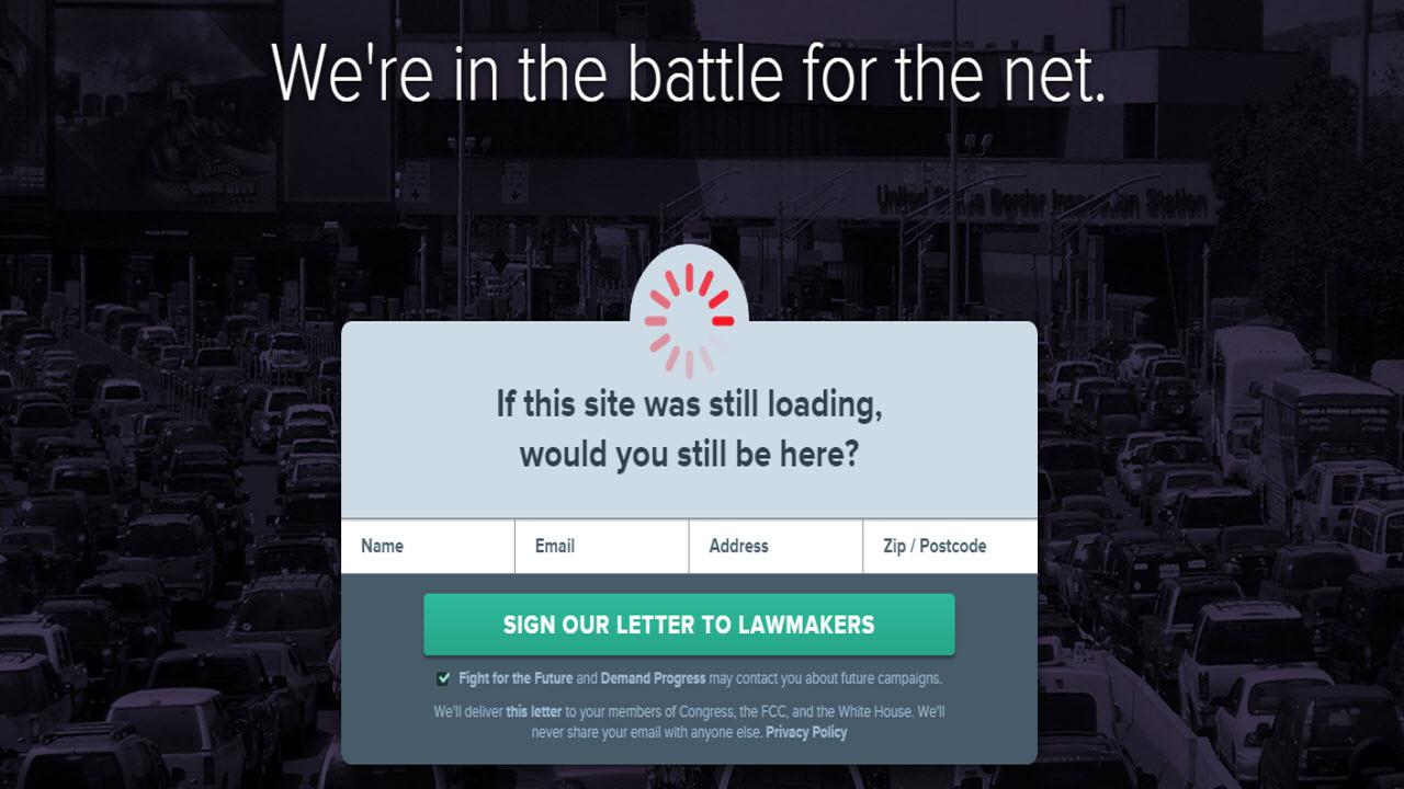 « Journée du ralentissement du Net » : levez le pied pour la neutralité d'Internet