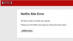 Moins d'une semaine après son lancement, Netflix tombe en panne presque deux heures