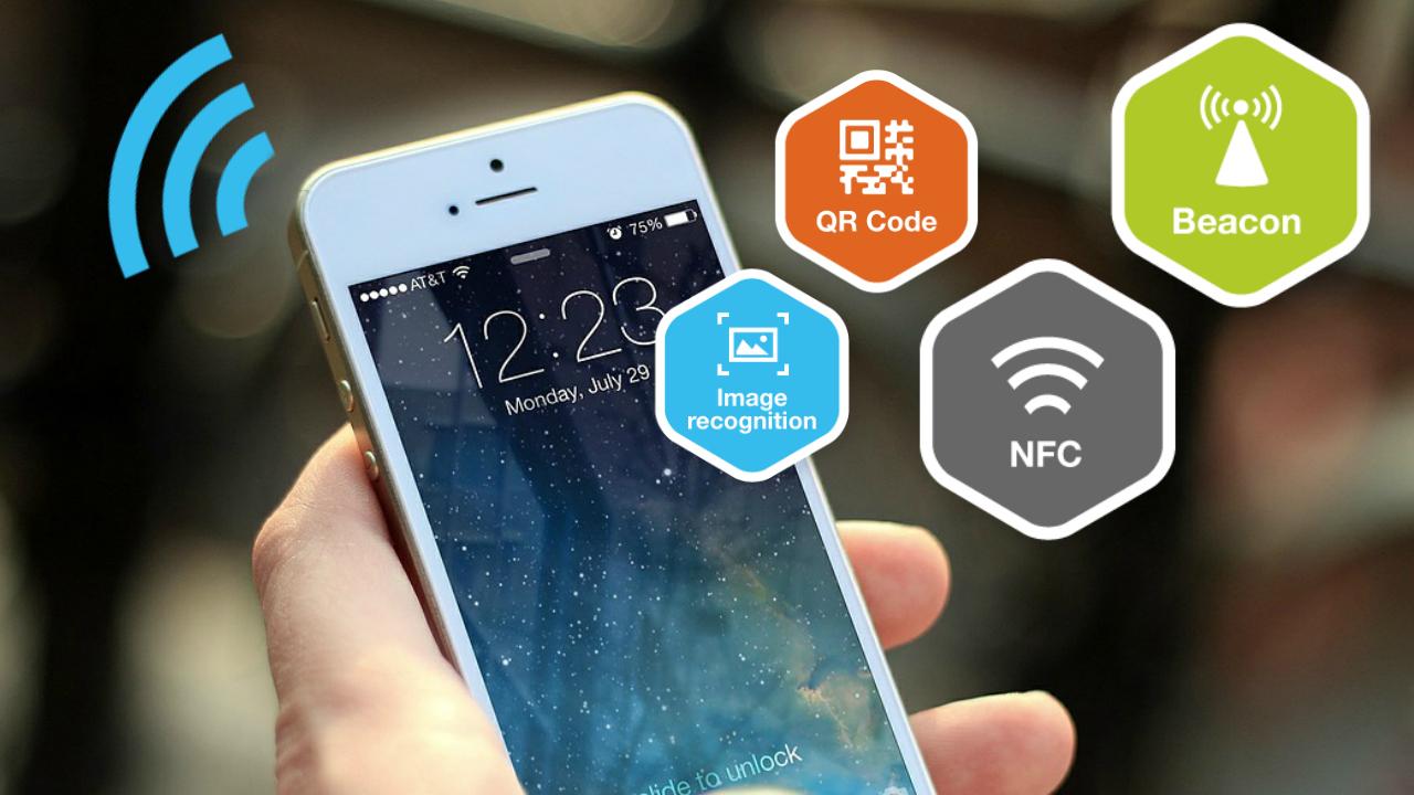 NFC QR Codes IBeacon RI Tout Savoir Sur Les Technologies Sans Contact
