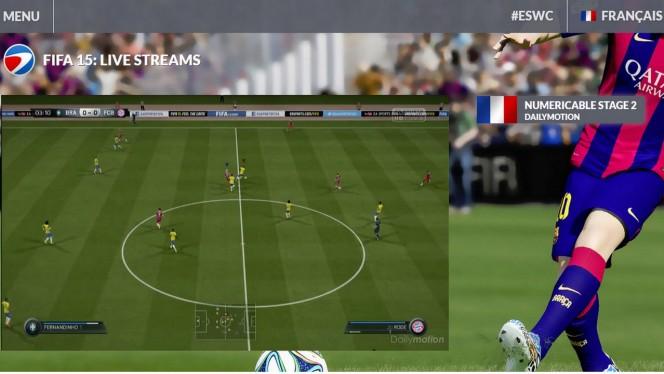FIFA 15 – Paris Games Week live streaming