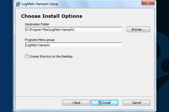 Install Hamachi