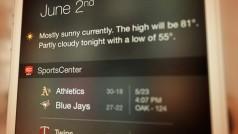 iOS 8 : 5 widgets pour personnaliser son iPhone. Enfin un centre de notifications sur mesure!