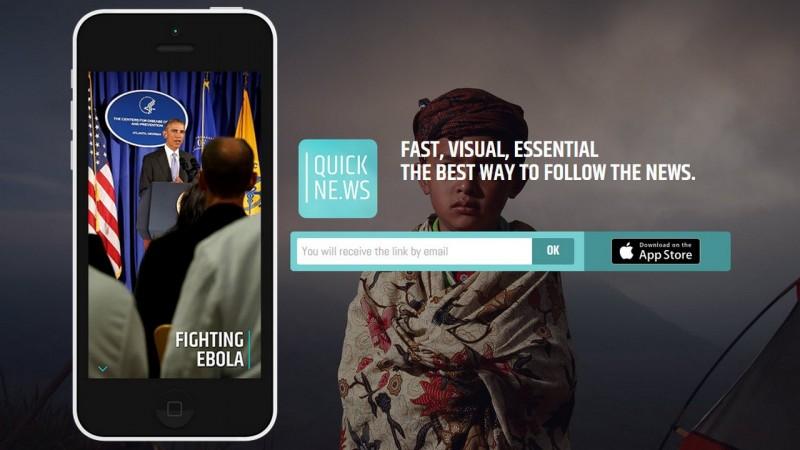 Quickne.ws et NOD : deux apps iPhone pour suivre l'actualité vite fait, bien fait
