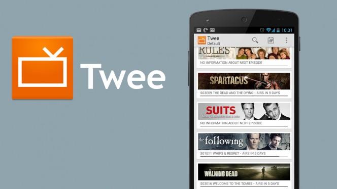 Homeland, Modern Family, Gotham… Utilisez Twee sur Android pour répertorier vos séries préférées