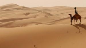 Voyagez dans le désert arabe sur Google Maps à dos de dromadaire