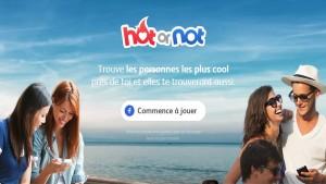Hot or Not: une appli comme Tinder, mais proche de Klout