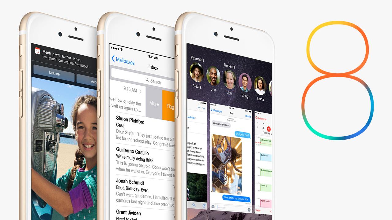 iOS 8: les meilleurs options que vous avez peut-être ratées