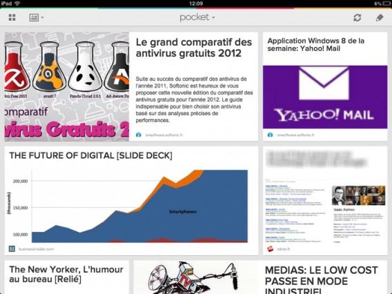 Pocket: un bon moyen de sauvegarder tous les liens qui vous intéressent