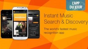 App du jour : oubliez Shazam utilisez SoundHound