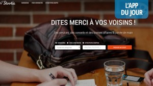 App du jour : Stootie, le réseau social du partage et de la vente géolocalisés