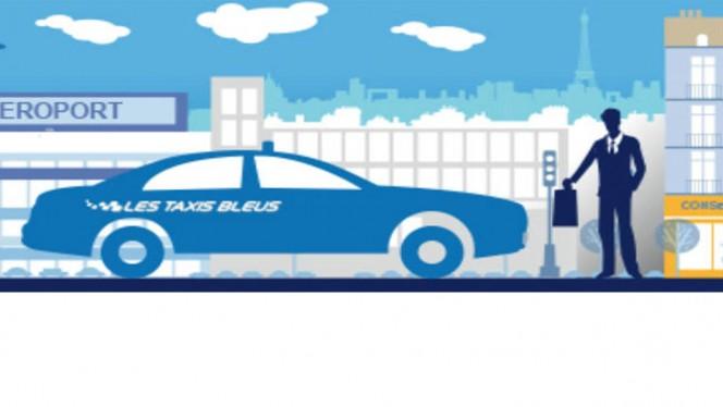 App du jour : appeler votre Taxi Bleu via… une application !