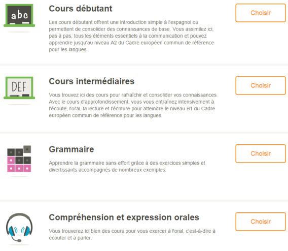 application pour apprendre une nouvelle langue go