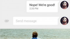 Google Messenger dès maintenant, l'application SMS d'Android Lollipop