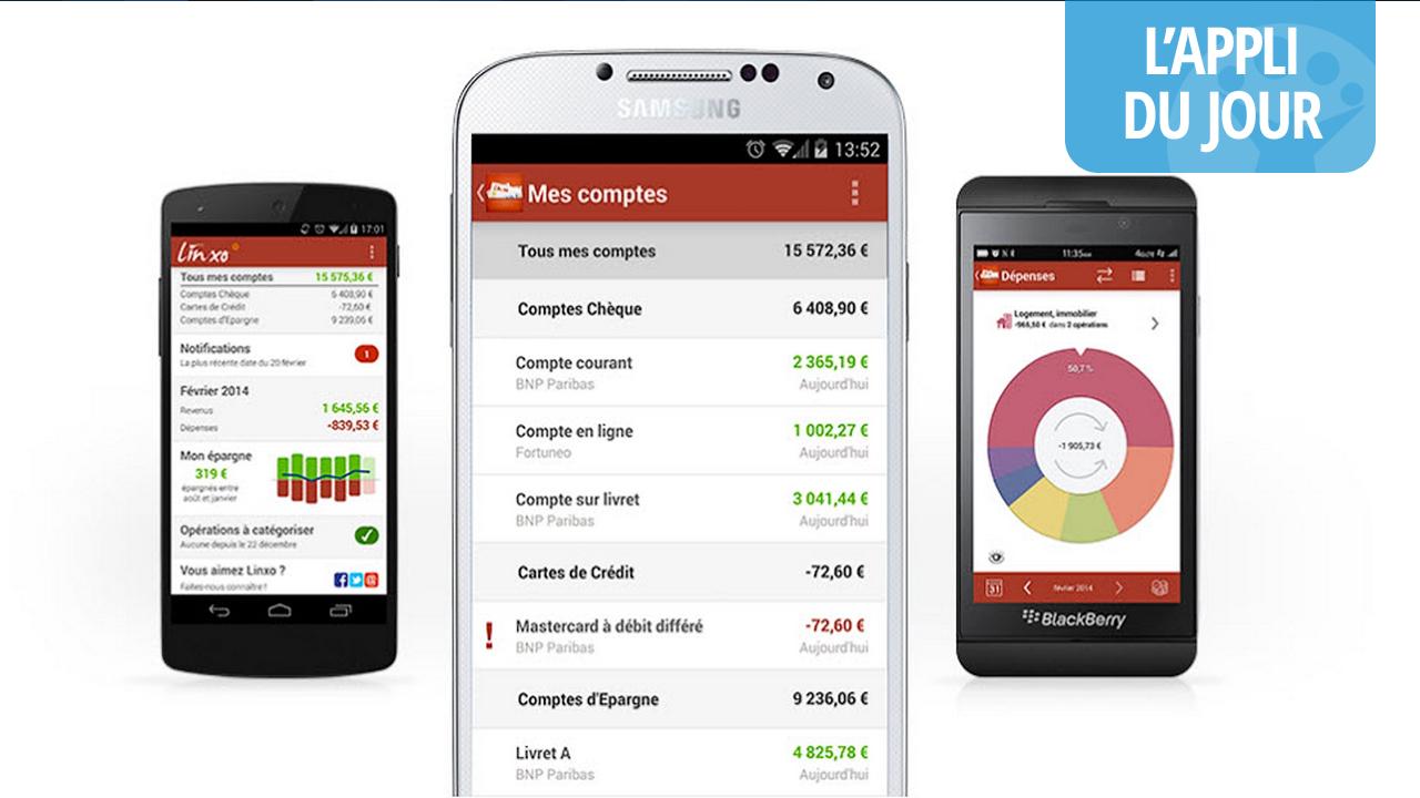 Ne soyez plus dans le rouge avec Linxo, l'appli pour gérer ses comptes bancaires