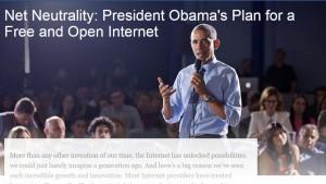 Neutralité du net : Obama dit oui. Et l'Europe et la France?