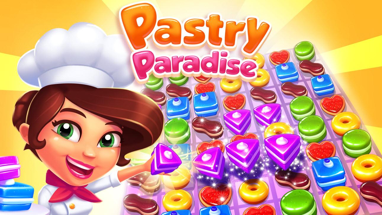 Avec Pastry Paradise, Gameloft chasse sur les terres de Candy Crush Saga