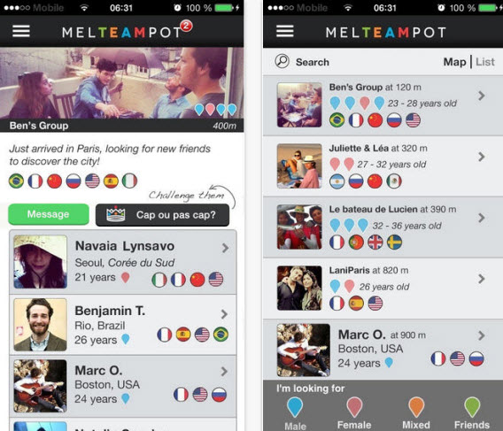 Top 10 application rencontre