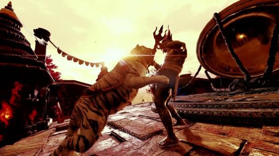 Tigre branco de Far Cry 4 pode ser usado como arma