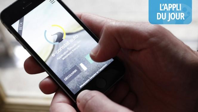L'app du jour : e-constat auto pour déclarer un accident à votre assureur