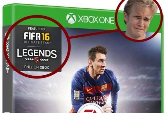 Contenu exclusif FIFA 16 pour Xbox One