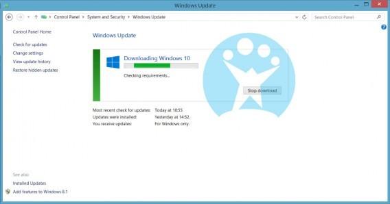 Téléchargement Windows 10