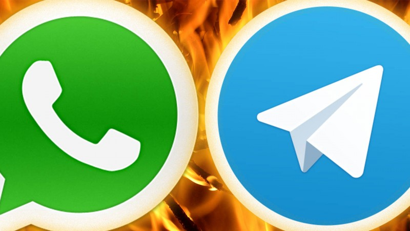 WhatsApp censure tous les links de Telegram
