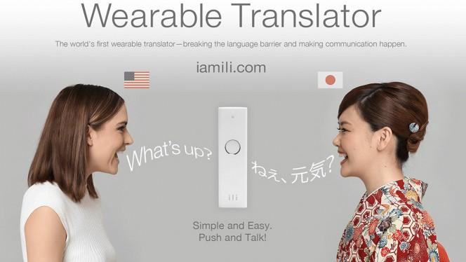 Plus besoin d'apprendre l'anglais! Voici ILI, le traducteur simultané de poche