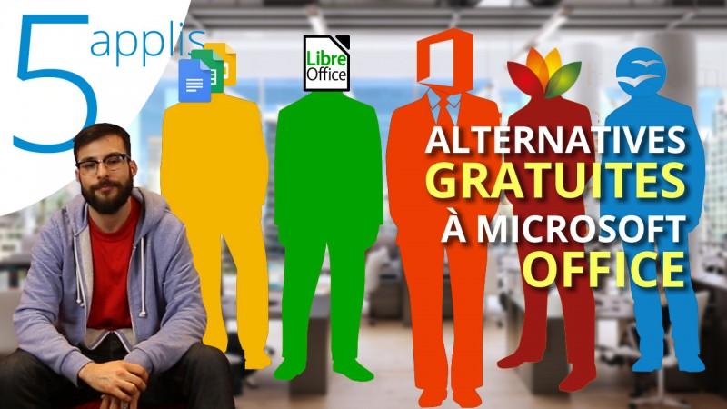 Les 5 meilleures alternatives gratuites à Microsoft Office