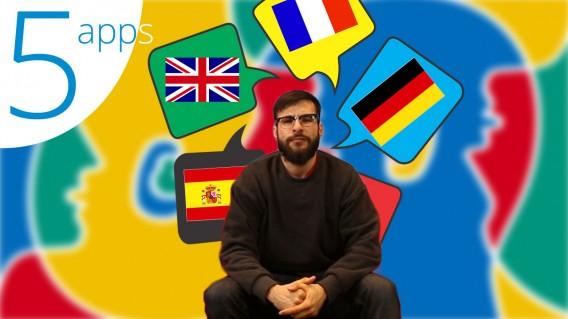5 applis apprendre langues étrangères