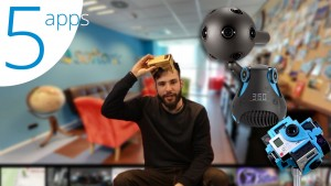 Réalité virtuelle: 5 applis pour réaliser des photos et vidéos à 360º