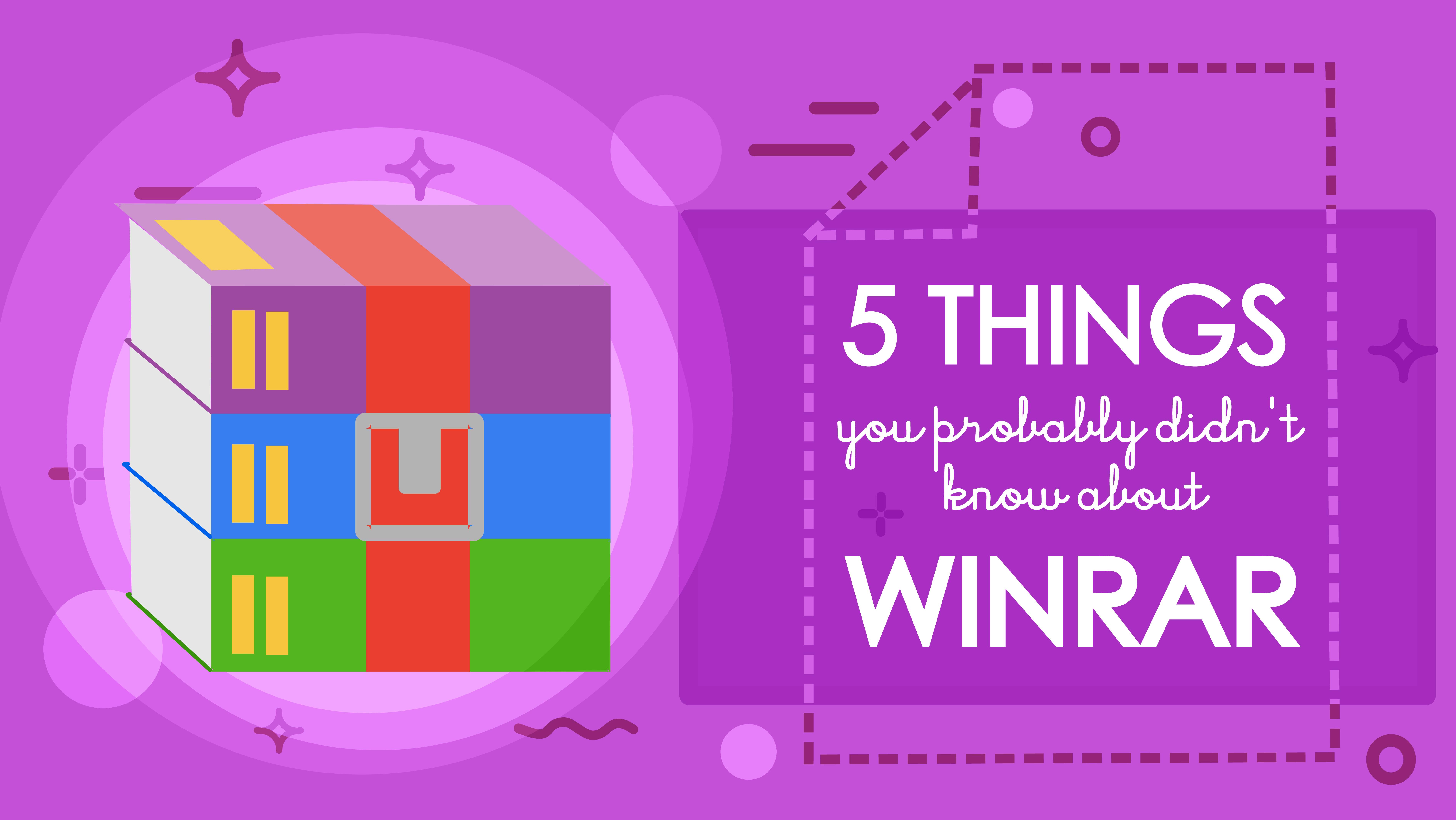 5 choses que vous ignorez sur Winrar (et qui gagnent à être connues)