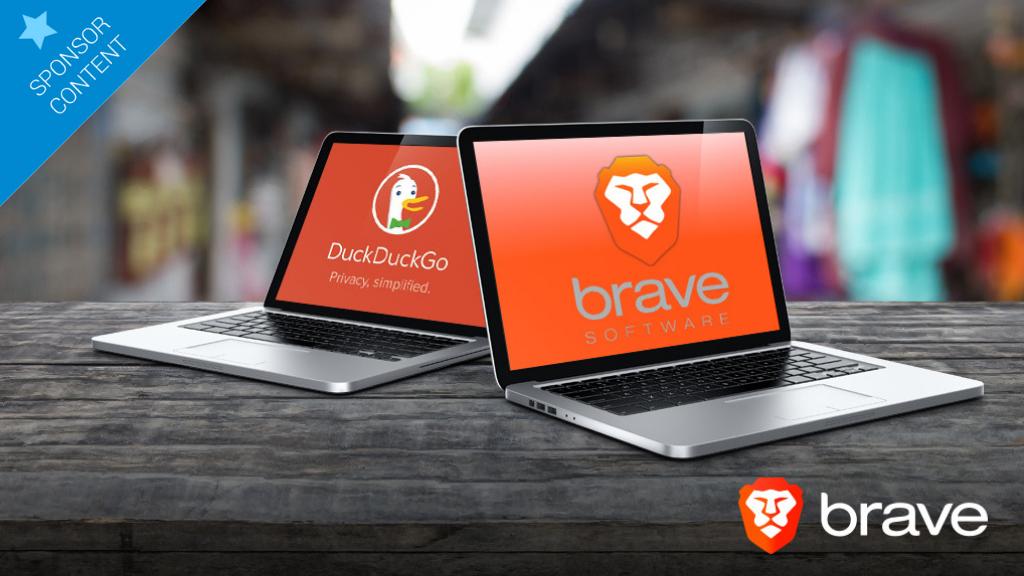 Utilisez Brave avec DuckDuckGo pour une navigation totalement confidentielle.